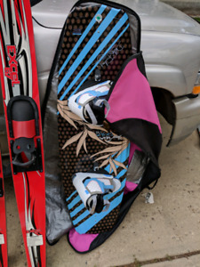 Wake board / fat sacks / pump/ accessories