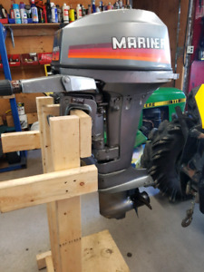 15 hp Mariner outboard