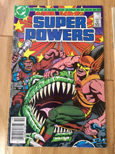 Super Powers / Teen Titans  (DC Comics 1981-85) only $5 (for 6)