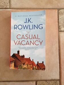 J K ROWLINGS-THE CASUAL VACANCY