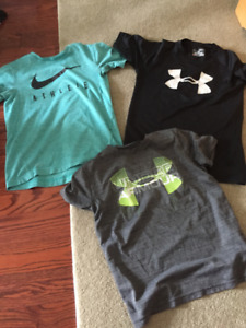 Nike and Under Armour T-Shirts