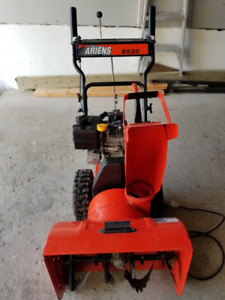 Electric Starter, Gas Powered, Self Propelled Snow Blower
