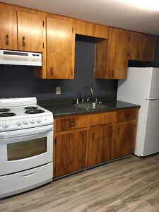 1 bedroom. $525 Plus lights and heat