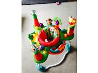 Bright sparks having a ball jumperoo bouncer
