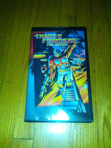 Transformers the movie 1995 hasbro vhs sunbow