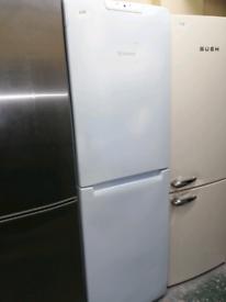 🌊Hotpoint fridge freezer white 3 months warranty at Recyk Appliances
