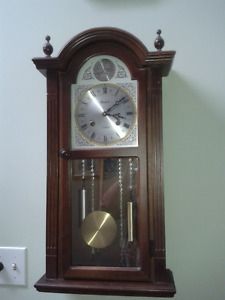 Wood chime clock