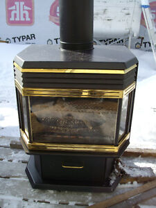 Used propane fireplace for sale