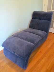 Micro suede chaise (lounging chair)