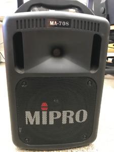 SYSTÈME DE SON PORTATIF MIPRO MA-708