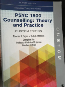 Humber College custom: Psyc 1500 Counselling: Theory & Practice