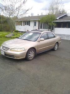 2002 Honda Accord Sedan