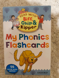 Biff Chip & Kipper Phonics flash cards