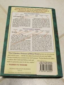 Vine's Complete Expository Dictionary of Old and New Testament Stratford Kitchener Area image 2