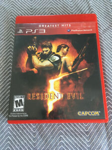 Resident Evil 5 - PS3 - No scratches!