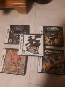 DS, Gameboy and PlayStation video games