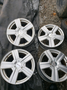 2 different sets of 97-03 F150 rims