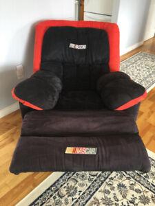 NASCAR reclining chair
