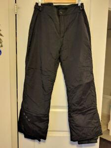 COLUMBIA: Black Women's Vertex Snow Pants (L) **fits like a medi