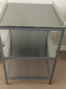 Stainless Tiered Table