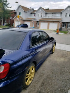 02 SUBARU 2.5RS / 07 WRX BRAKE CONVERSION