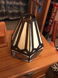 Tiffany light shade