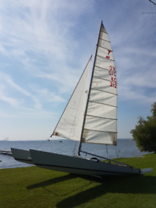 Sailboat Tornado Catamaran