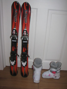 Kids skis & boots