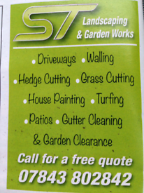 S.T Landscaping and garden works