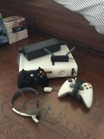 X-Box 360 with 27 Games and Kinect