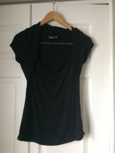 Mexx black blouse, size medium.