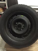 215/65 R16 Winter Continental Tires