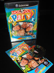NINTENDO GAMECUBE-MONOPOLY PARTY (1 TO 4 PLAYERS)