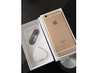 iPhone 6s 64gb gold unlocked warranty like new