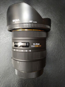 Sigma EX 10-20mm F3.5 DC HSM  for Canon