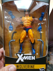 Marvel legends yellow striped wolverine
