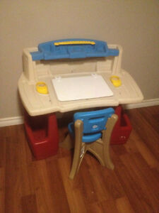 Step 2 Creative Master Art Desk and Chair for Little Ones