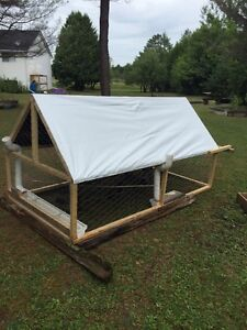 Anyone interested in mobile chicken coop
