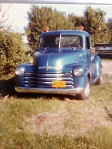 Searching for previously owned 1952 Chevy Pickup