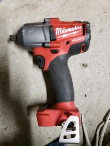 Milwaukee mid torque impact wrench. 2861-20