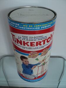 2 VINTAGE HASBRO THE CLASSIC TINKERTOY CONSTRUCTION SETS Cornwall Ontario image 10