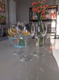 Gin glasses x4