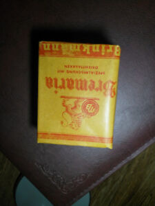 German pack of tobacco Bremaria