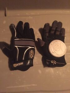 Sector nine longboard sliding gloves