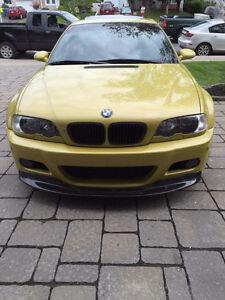 Bmw m3 e46 jaune phoenix