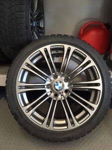 BMW M3 Mags Winter tires 18 inches / Roues pneus hiver