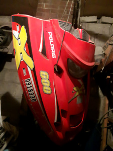 Polaris Hood for snowmobile