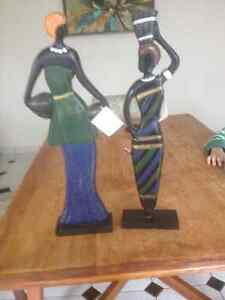 African-inspired accent statues London Ontario image 1