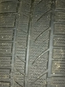 4 winter tires on rims ( Inf 049)
