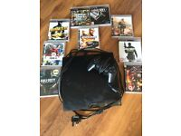 PS3 slimline, 160 gb and 9 games